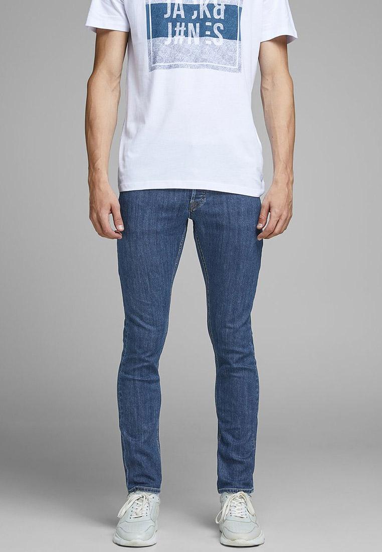 Зауженные джинсы Jack & Jones (Джек Энд Джонс) 12159438