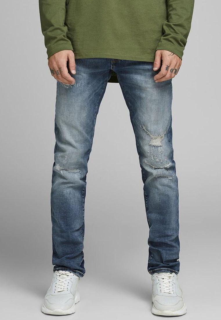 Зауженные джинсы Jack & Jones (Джек Энд Джонс) 12158604