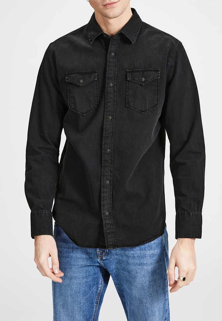 Рубашка с длинным рукавом Jack & Jones (Джек Энд Джонс) 12138115