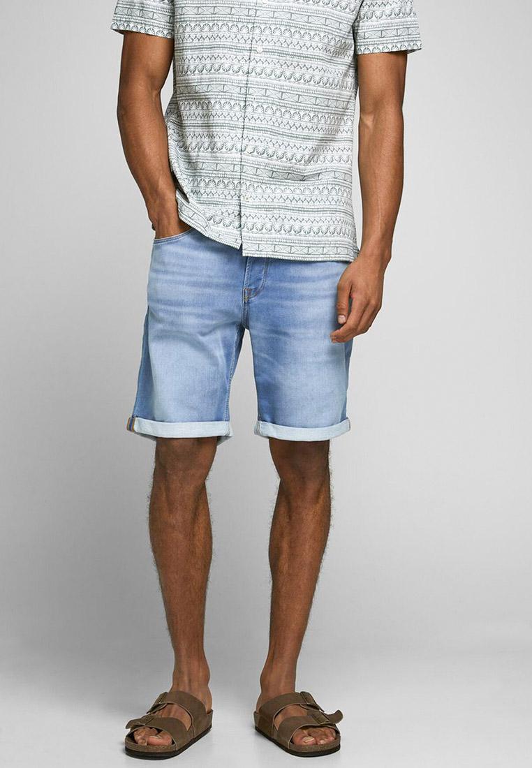 Мужские джинсовые шорты Jack & Jones (Джек Энд Джонс) 12166263