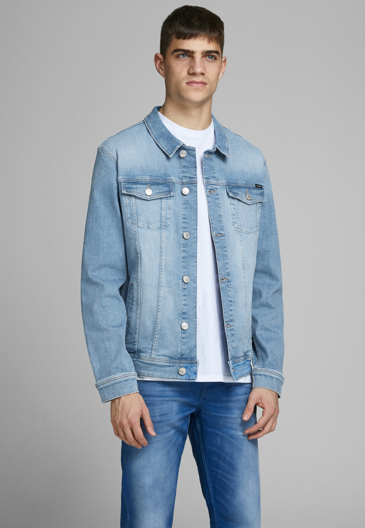 Джинсовая куртка Jack & Jones (Джек Энд Джонс) 12166868