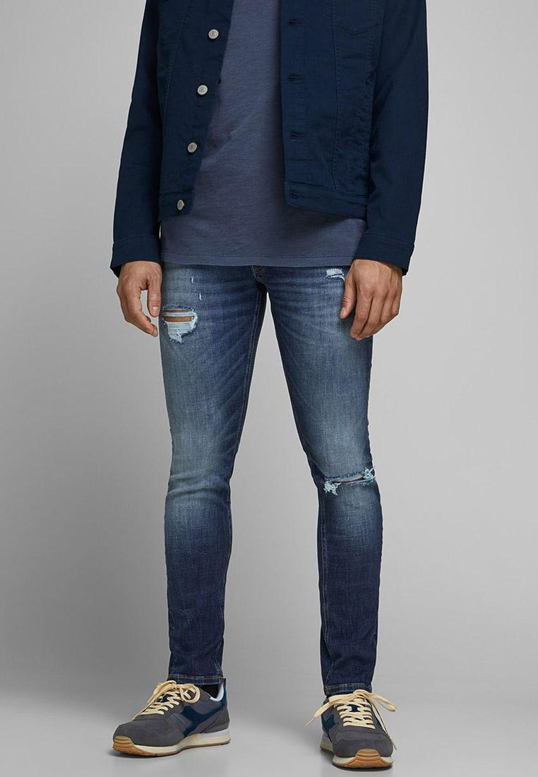 Зауженные джинсы Jack & Jones (Джек Энд Джонс) 12169315
