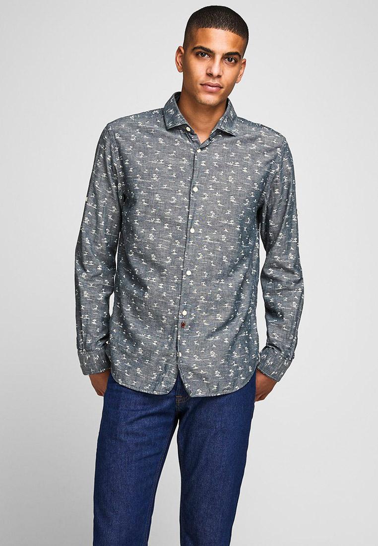 Рубашка с длинным рукавом Jack & Jones (Джек Энд Джонс) 12170683