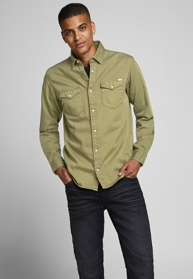 Рубашка с длинным рукавом Jack & Jones (Джек Энд Джонс) 12163785