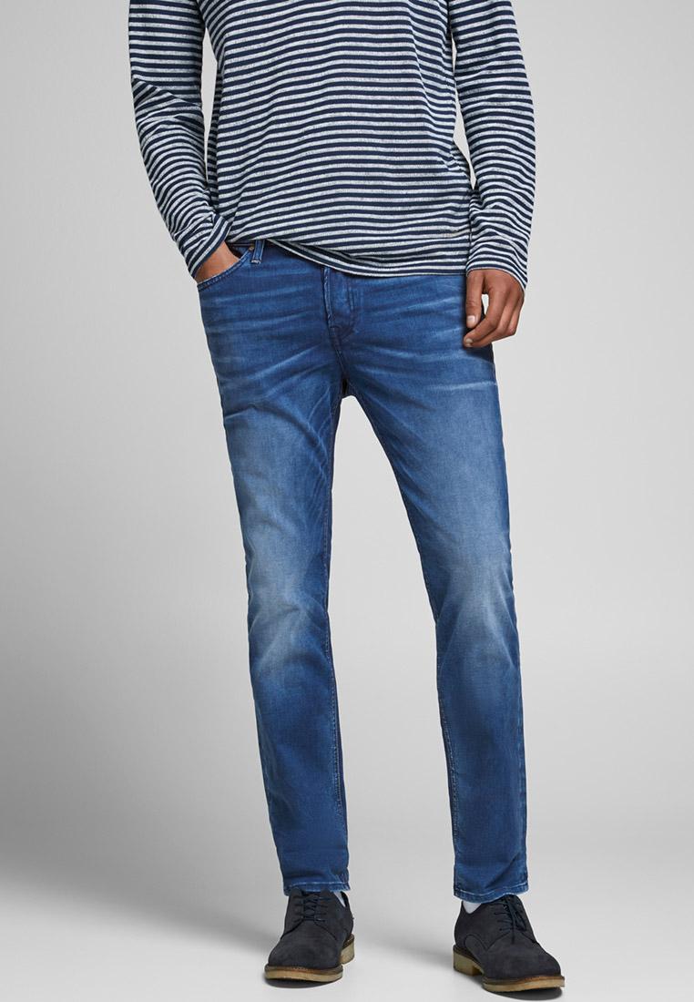 Зауженные джинсы Jack & Jones (Джек Энд Джонс) 12177440