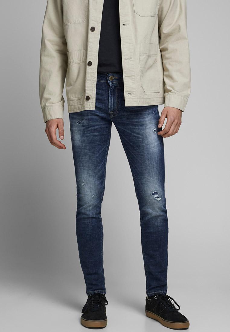 Зауженные джинсы Jack & Jones (Джек Энд Джонс) 12177507