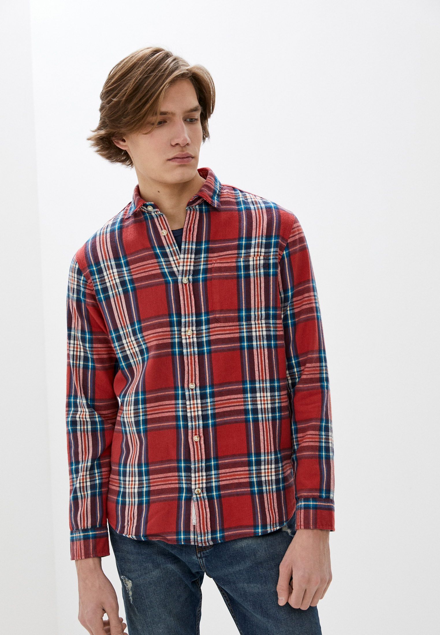 Рубашка с длинным рукавом Jack & Jones 12180388