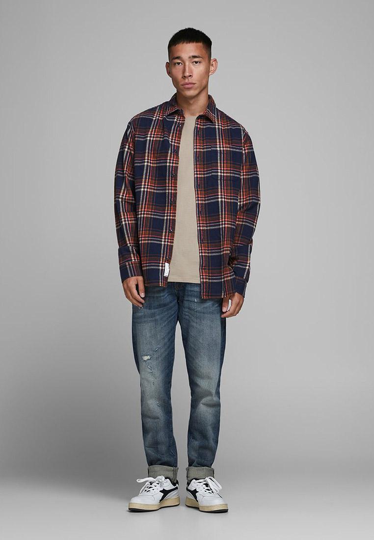 Рубашка с длинным рукавом Jack & Jones (Джек Энд Джонс) 12180388: изображение 3