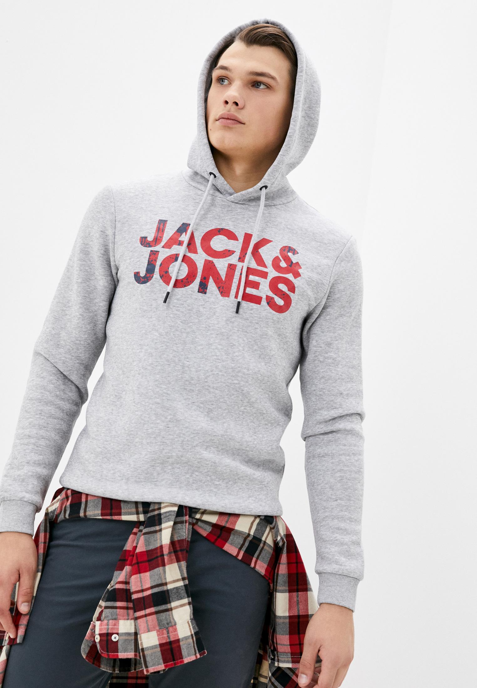 Мужские худи Jack & Jones (Джек Энд Джонс) 12177936