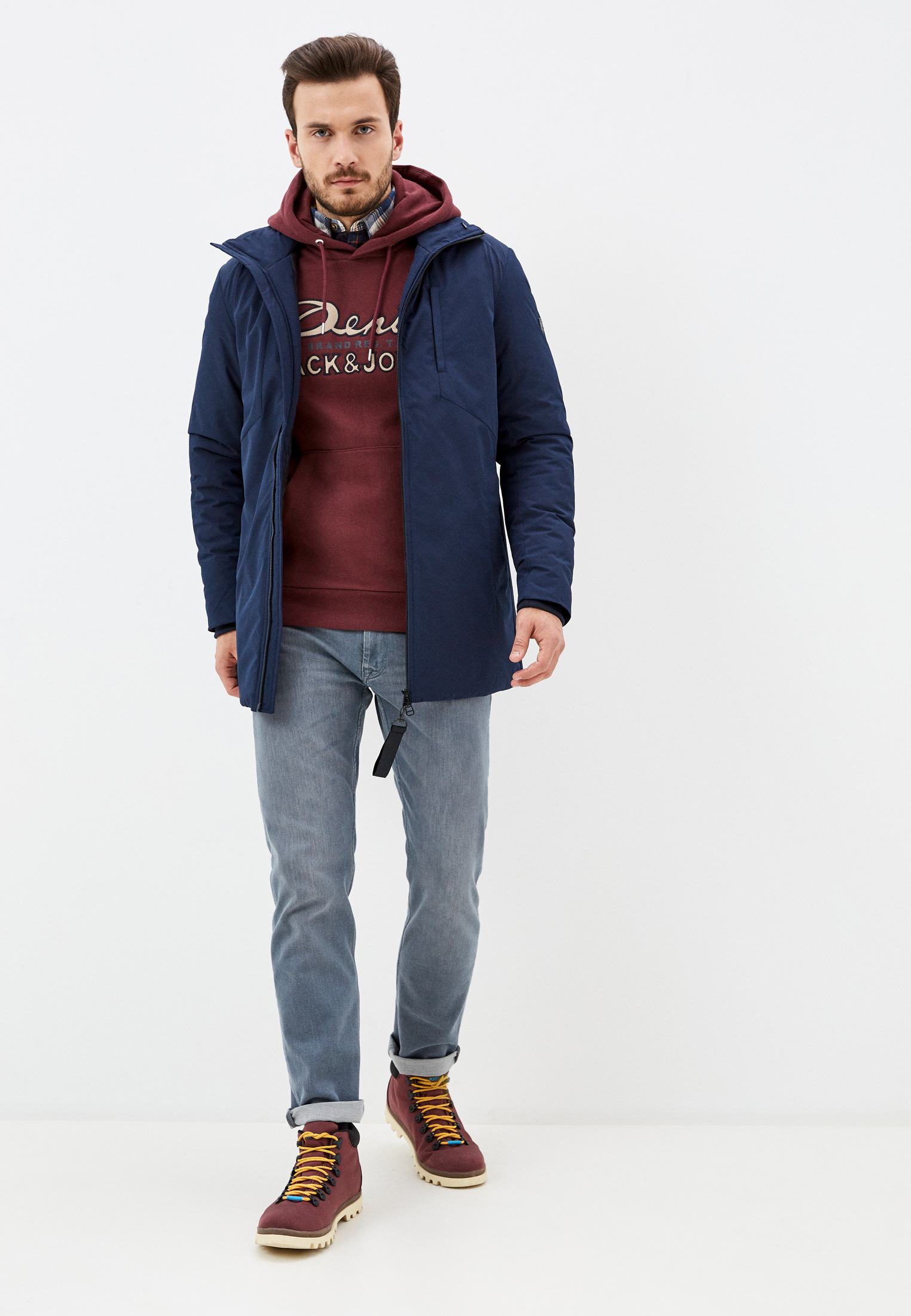 Утепленная куртка Jack & Jones (Джек Энд Джонс) 12176975: изображение 7