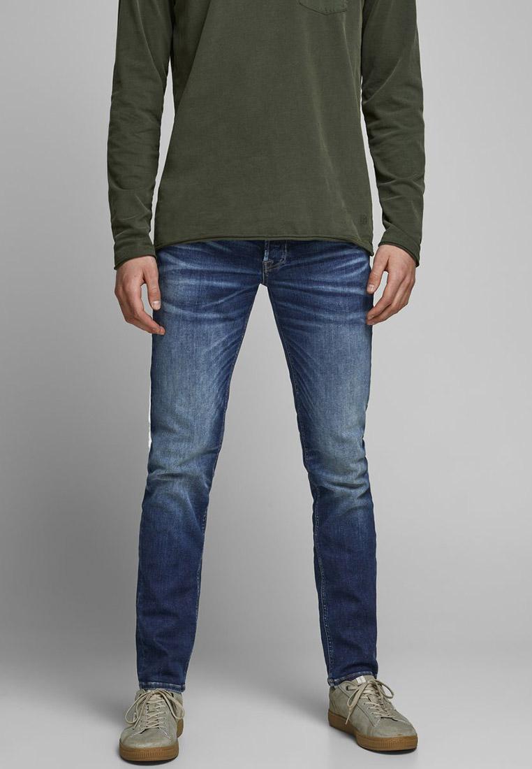 Зауженные джинсы Jack & Jones (Джек Энд Джонс) 12178859