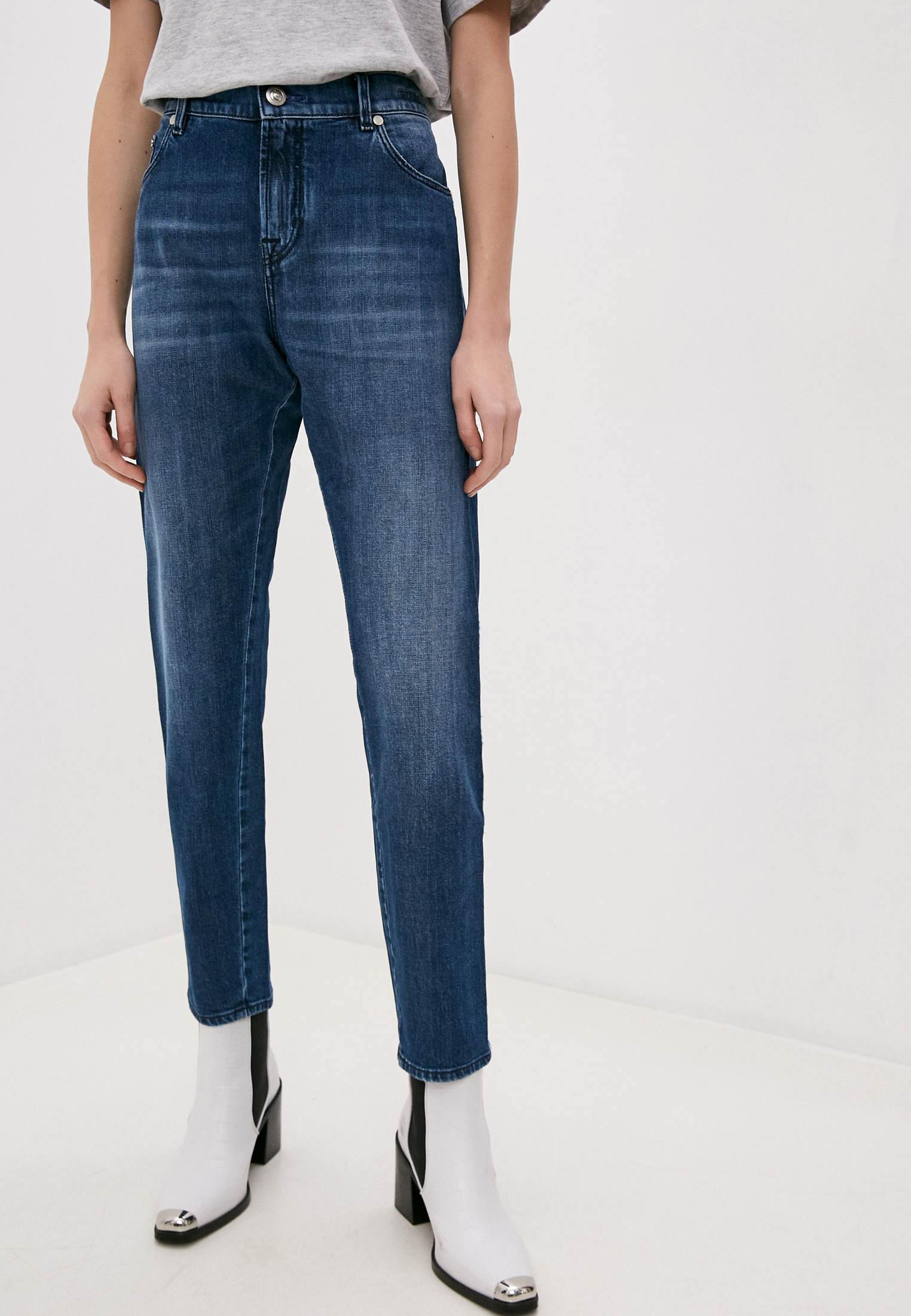 Зауженные джинсы Jacob Cohen KIMBERLY CROP LTD-01904