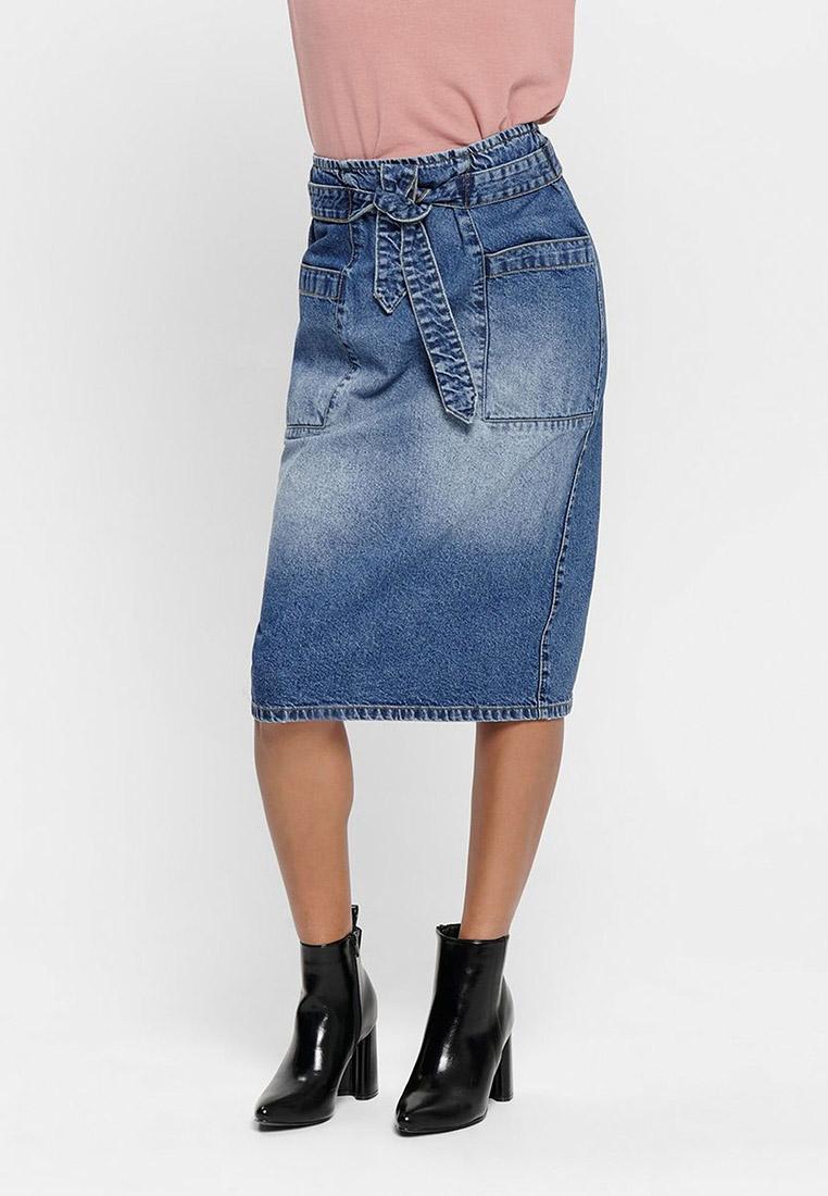 Джинсовая юбка Jacqueline de Yong 15193395