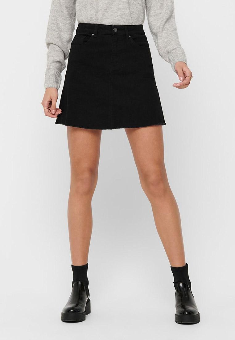 Джинсовая юбка Jacqueline de Yong 15197939