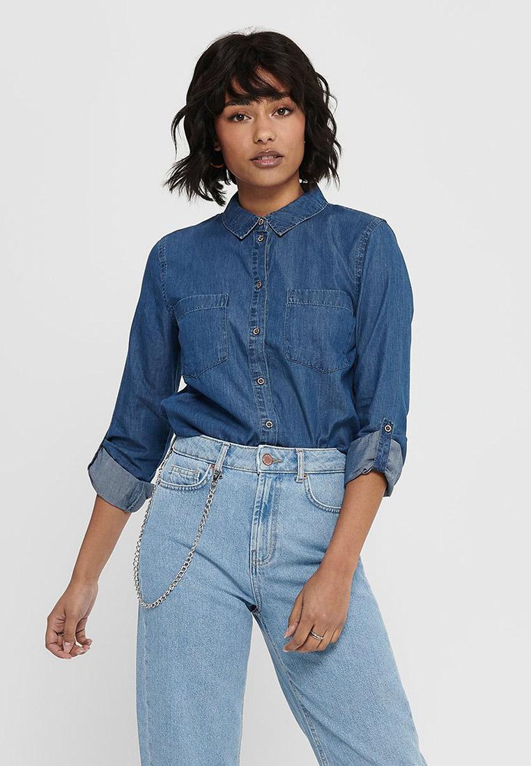 Женские джинсовые рубашки Jacqueline de Yong (Жаклин Де Йонг) 15197869