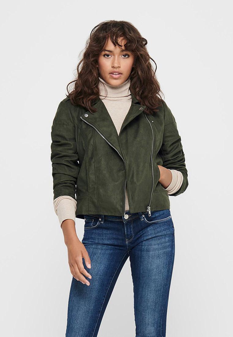 Кожаная куртка Jacqueline de Yong Куртка кожаная Jacqueline de Yong