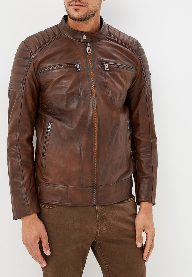 Кожаная куртка JIMMY SANDERS (Джимми Сандерс) 18F CTM22003