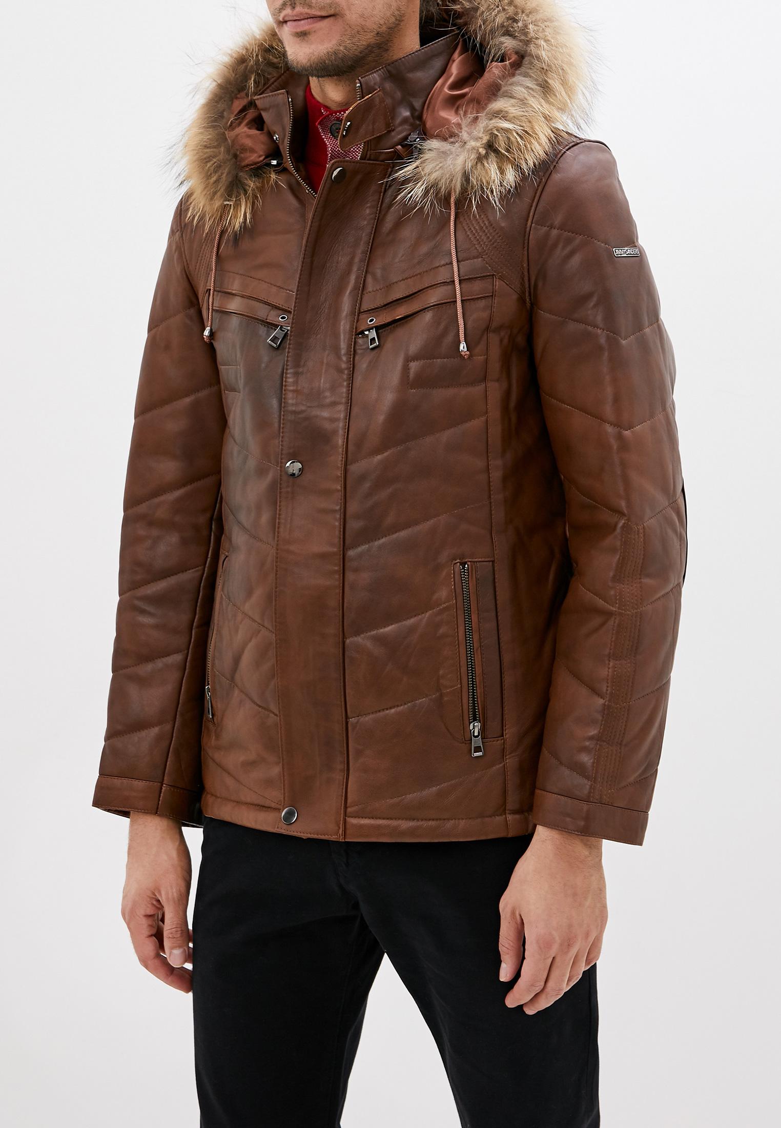 Кожаная куртка JIMMY SANDERS (Джимми Сандерс) 18F CTM22007