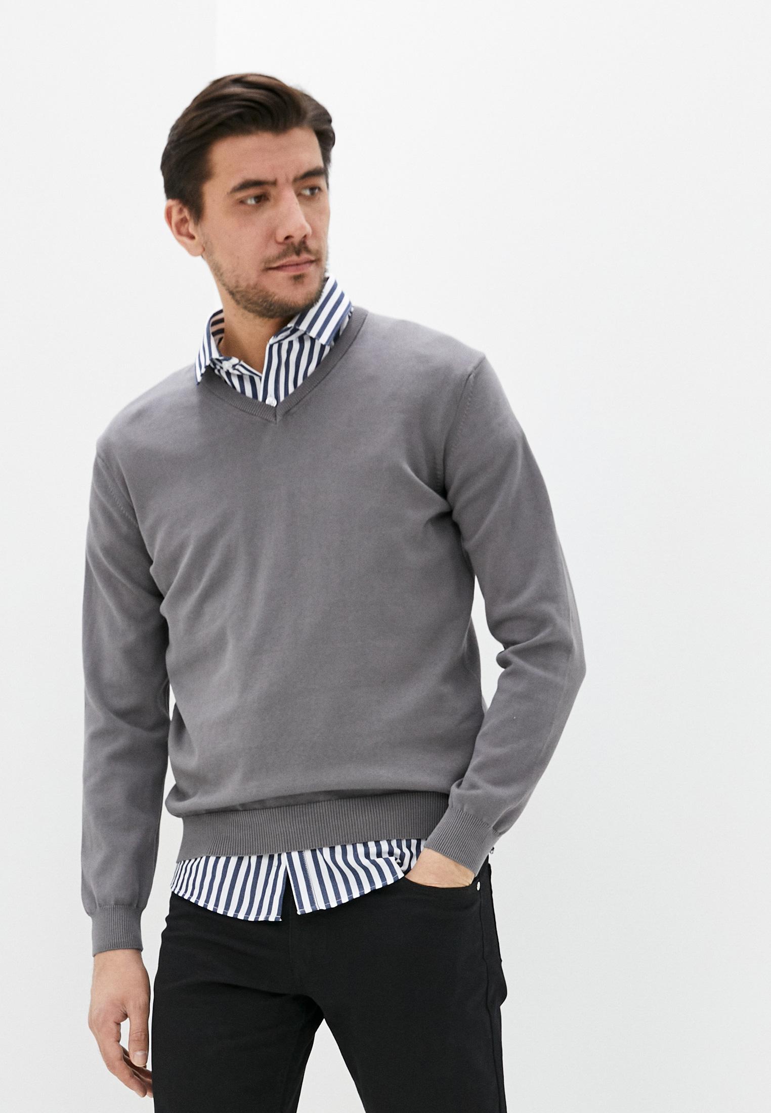 Пуловер JIMMY SANDERS (Джимми Сандерс) 19W KM5066 GREY