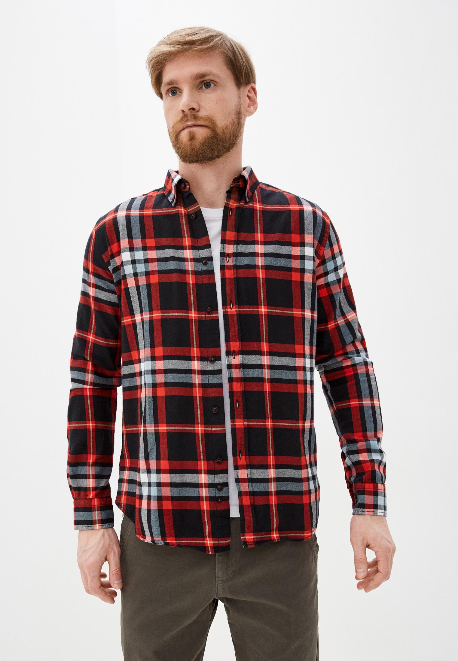Рубашка с длинным рукавом Jimmy Sanders 20W SHM3100 RED