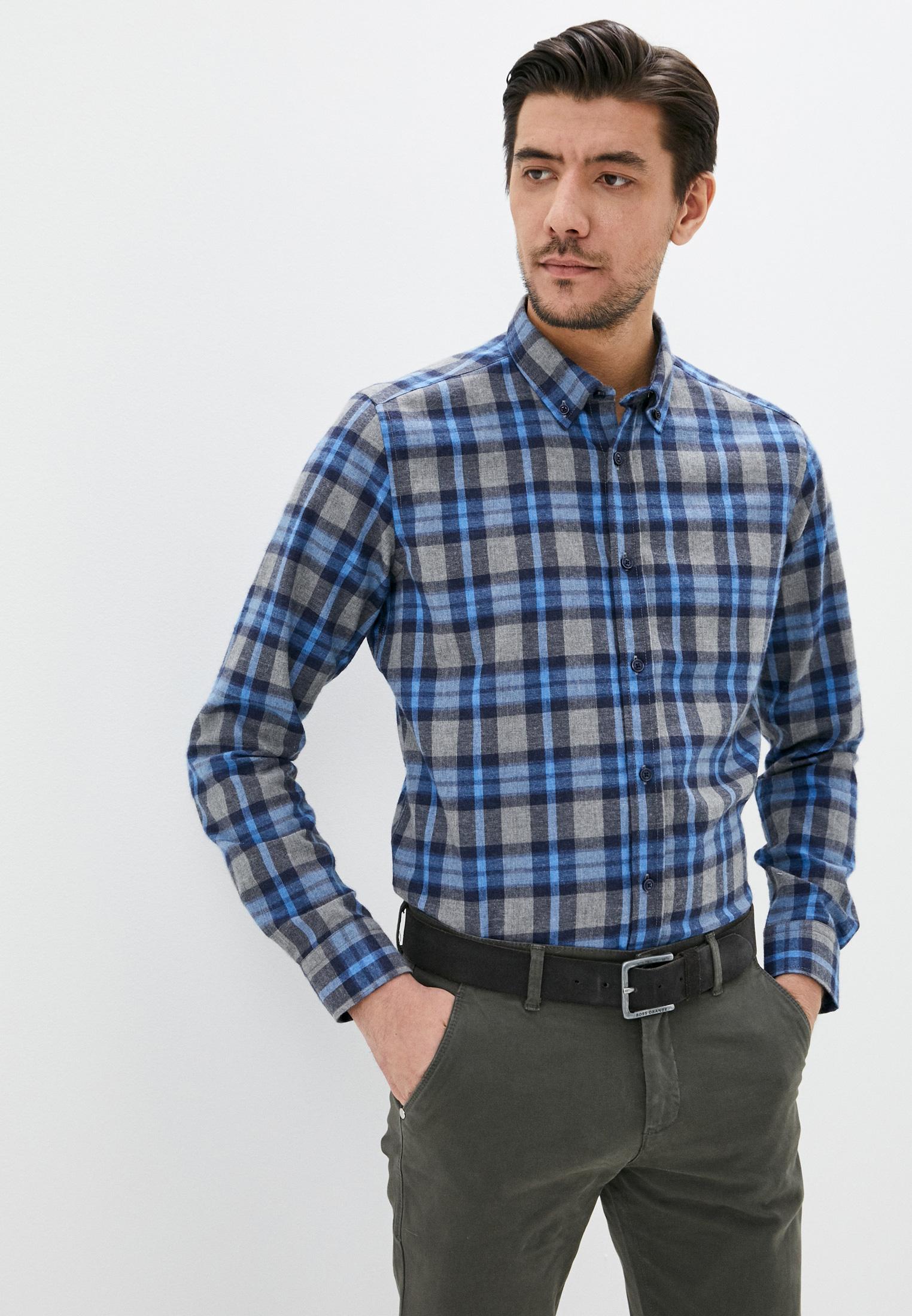 Рубашка с длинным рукавом JIMMY SANDERS (Джимми Сандерс) 20W SHM3101 NAVY