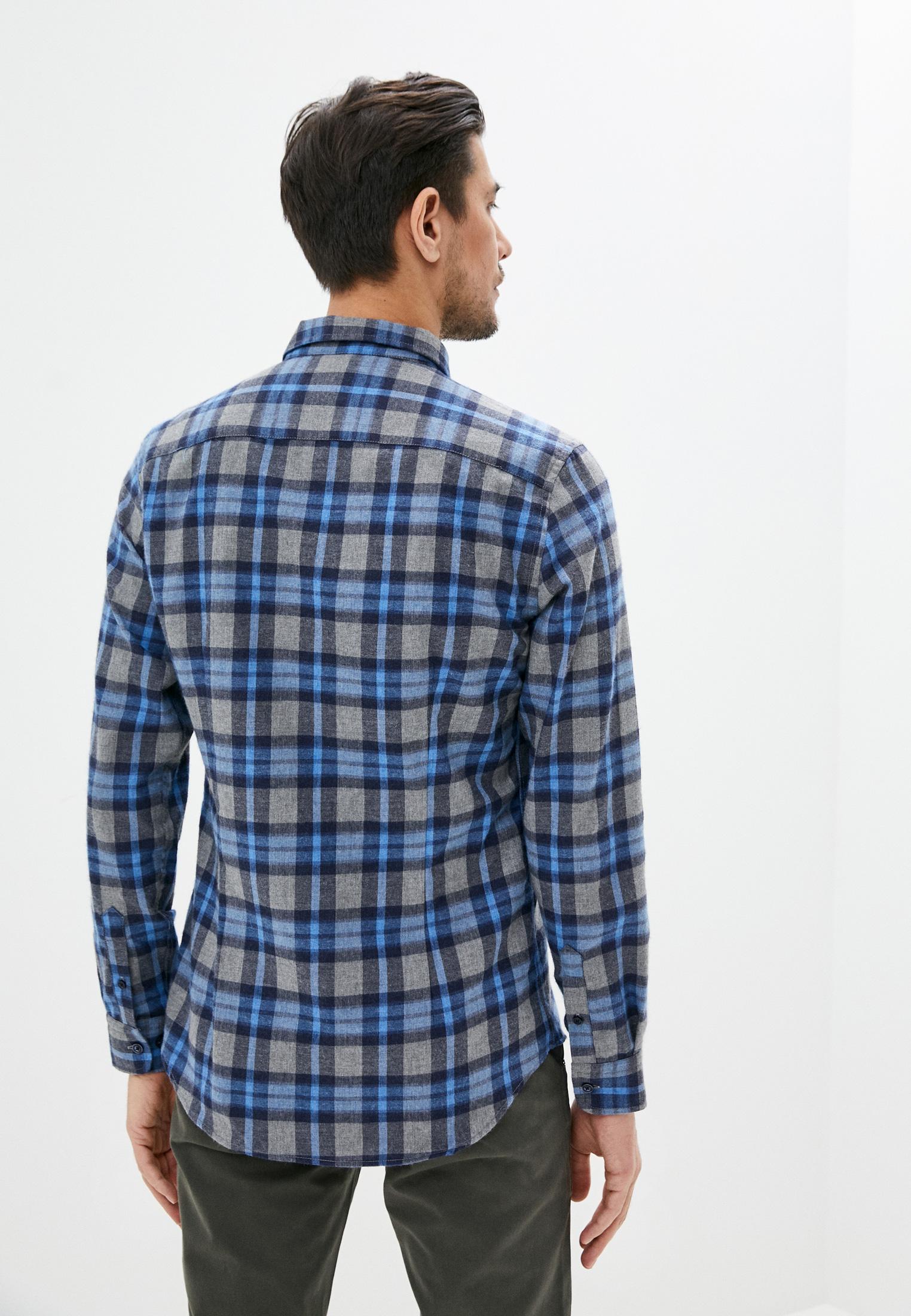 Рубашка с длинным рукавом JIMMY SANDERS (Джимми Сандерс) 20W SHM3101 NAVY: изображение 3