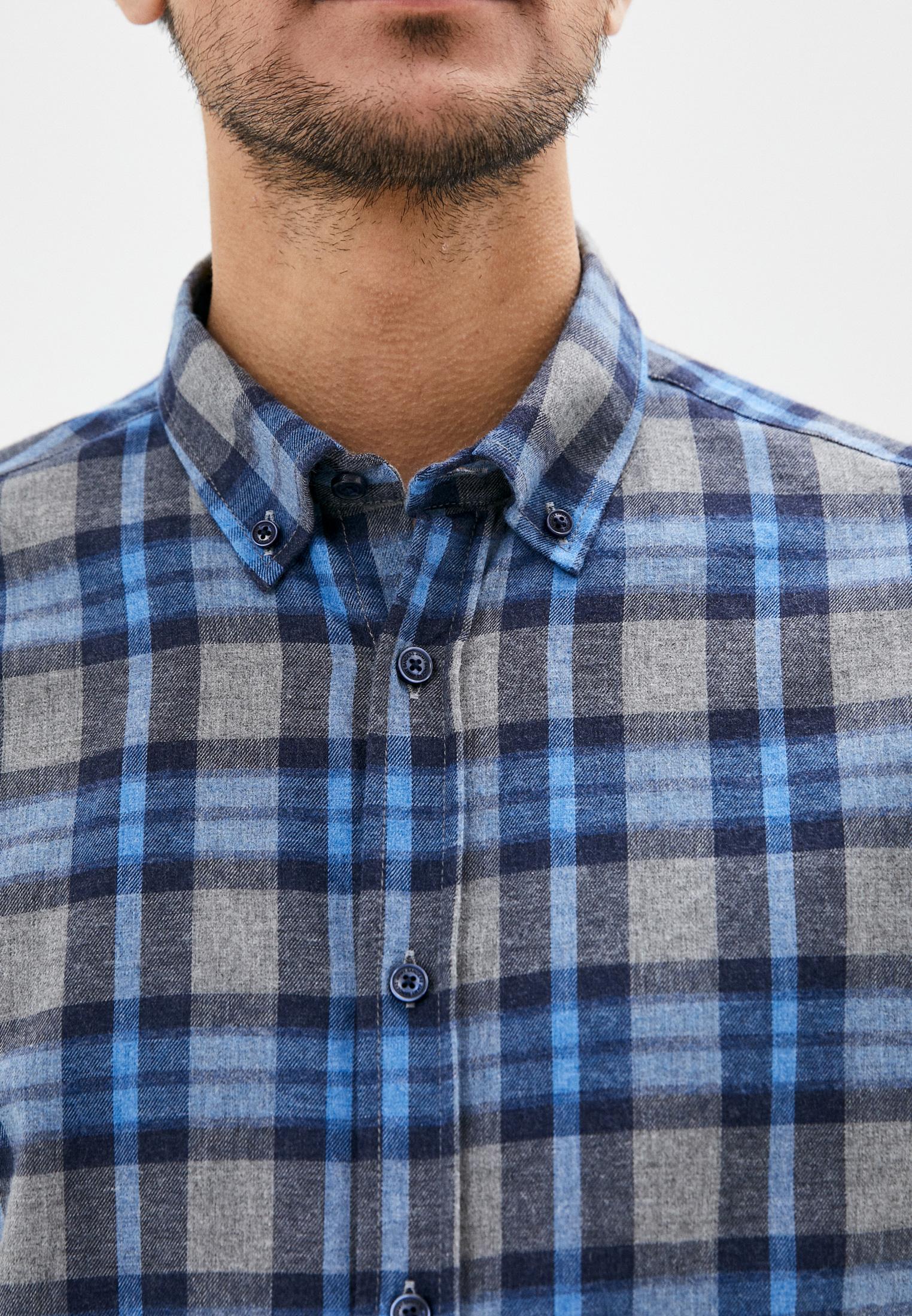 Рубашка с длинным рукавом JIMMY SANDERS (Джимми Сандерс) 20W SHM3101 NAVY: изображение 4