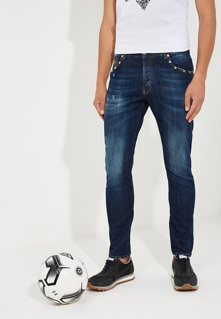 Зауженные джинсы John Richmond (Джон Ричмонд) rmp18197je