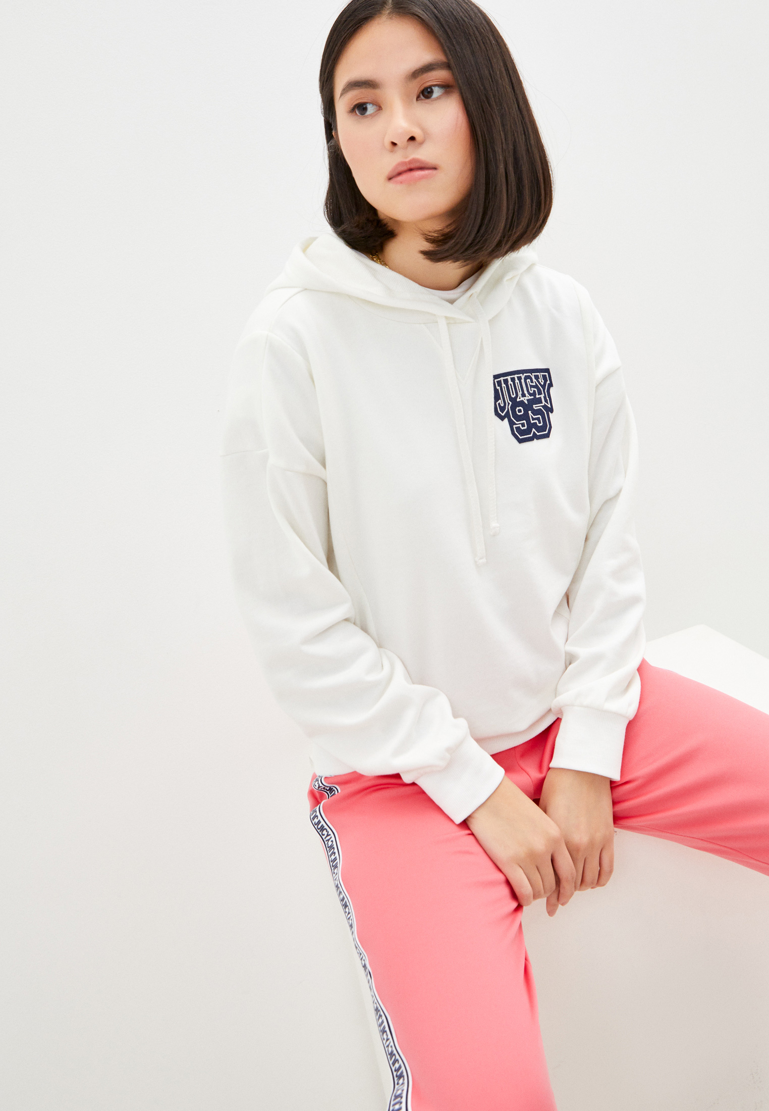Женские худи Juicy Couture (Джуси Кутюр) JWTKT161801
