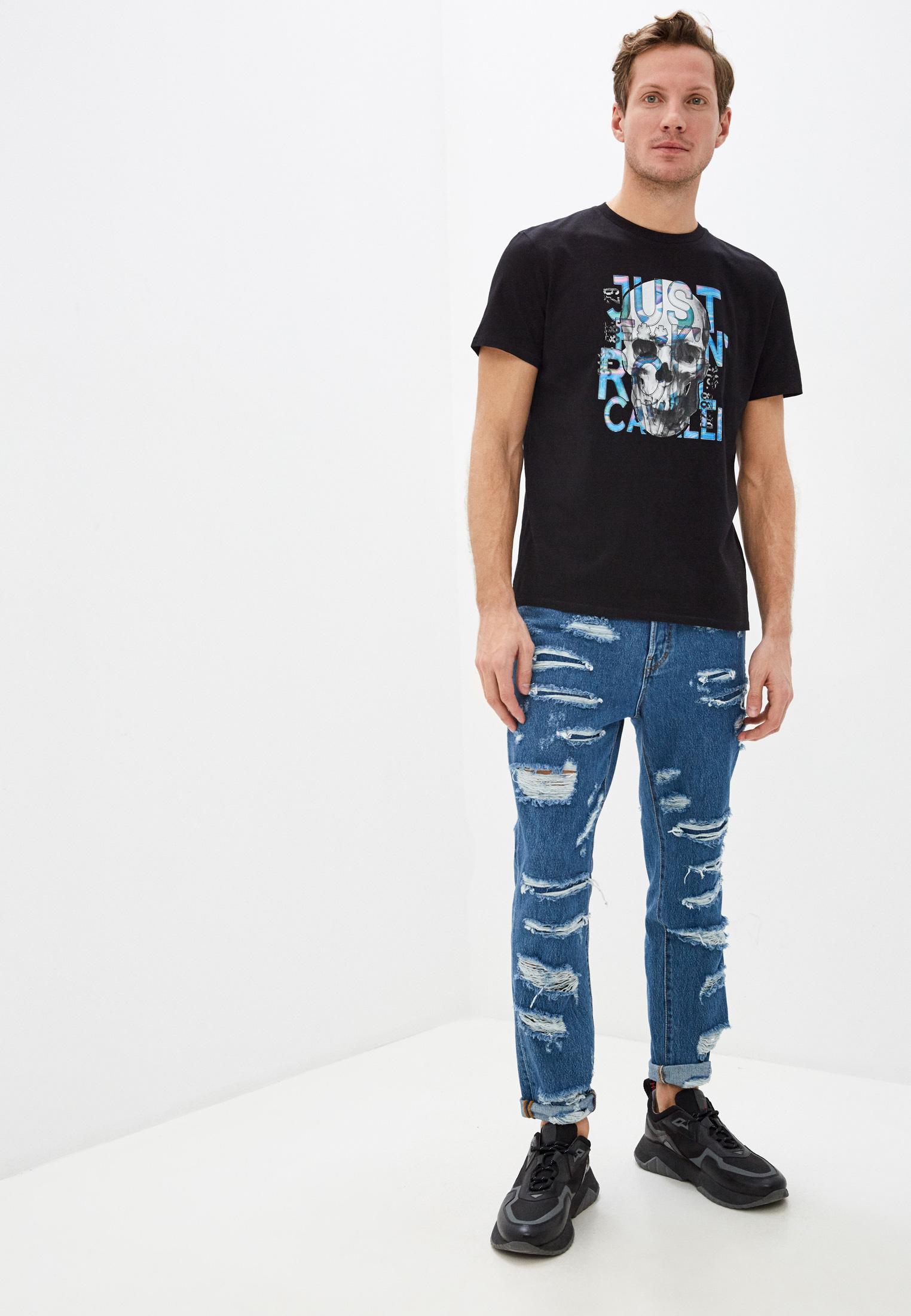Мужские зауженные джинсы Just Cavalli (Джаст Кавалли) s01la0123: изображение 2