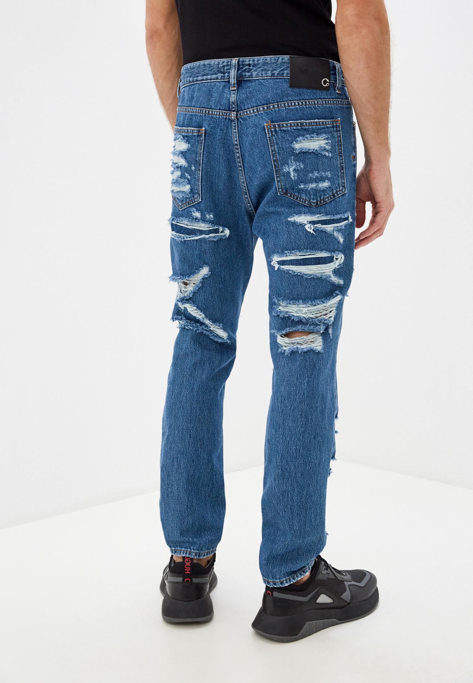 Мужские зауженные джинсы Just Cavalli (Джаст Кавалли) s01la0123: изображение 3