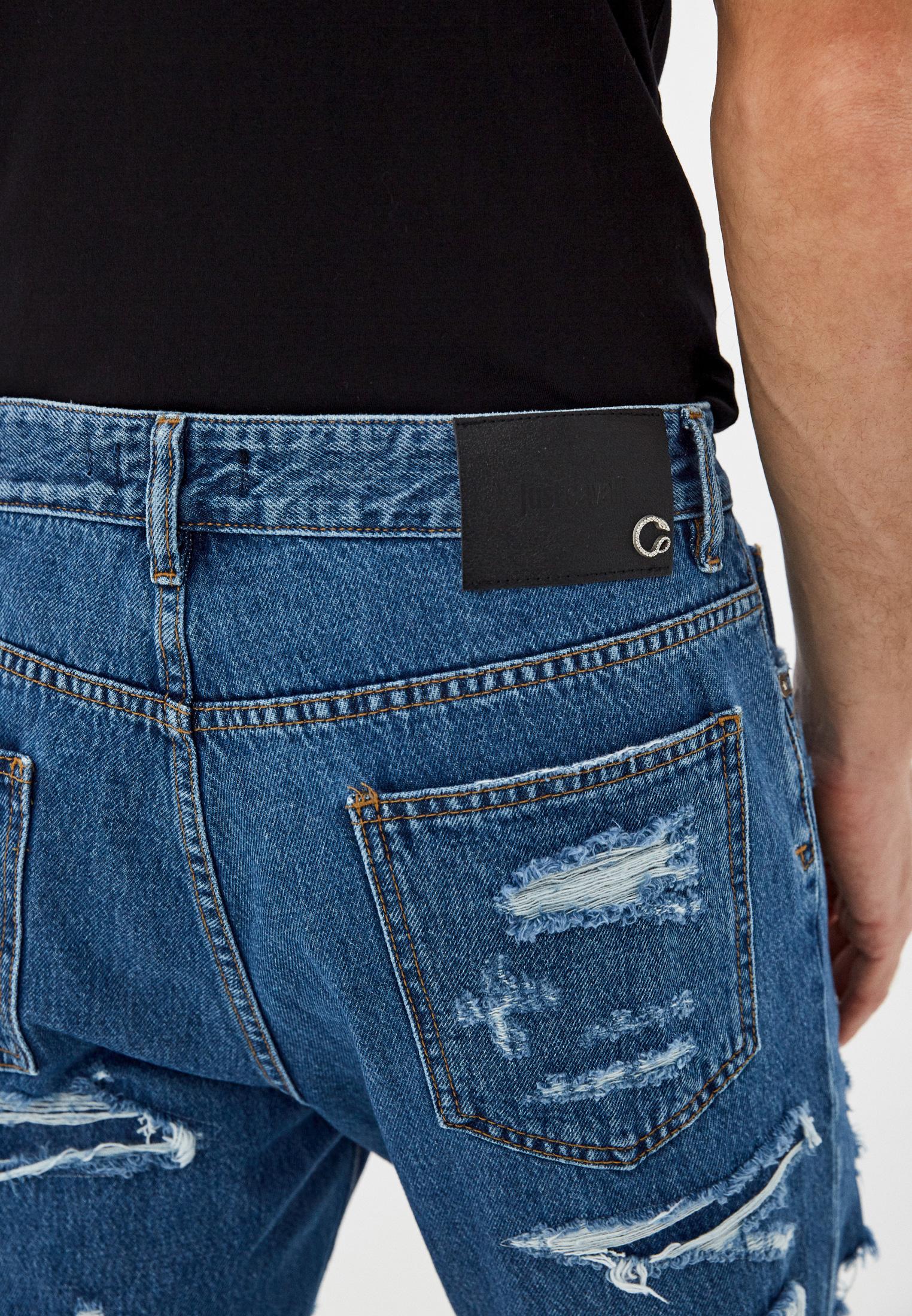 Мужские зауженные джинсы Just Cavalli (Джаст Кавалли) s01la0123: изображение 4