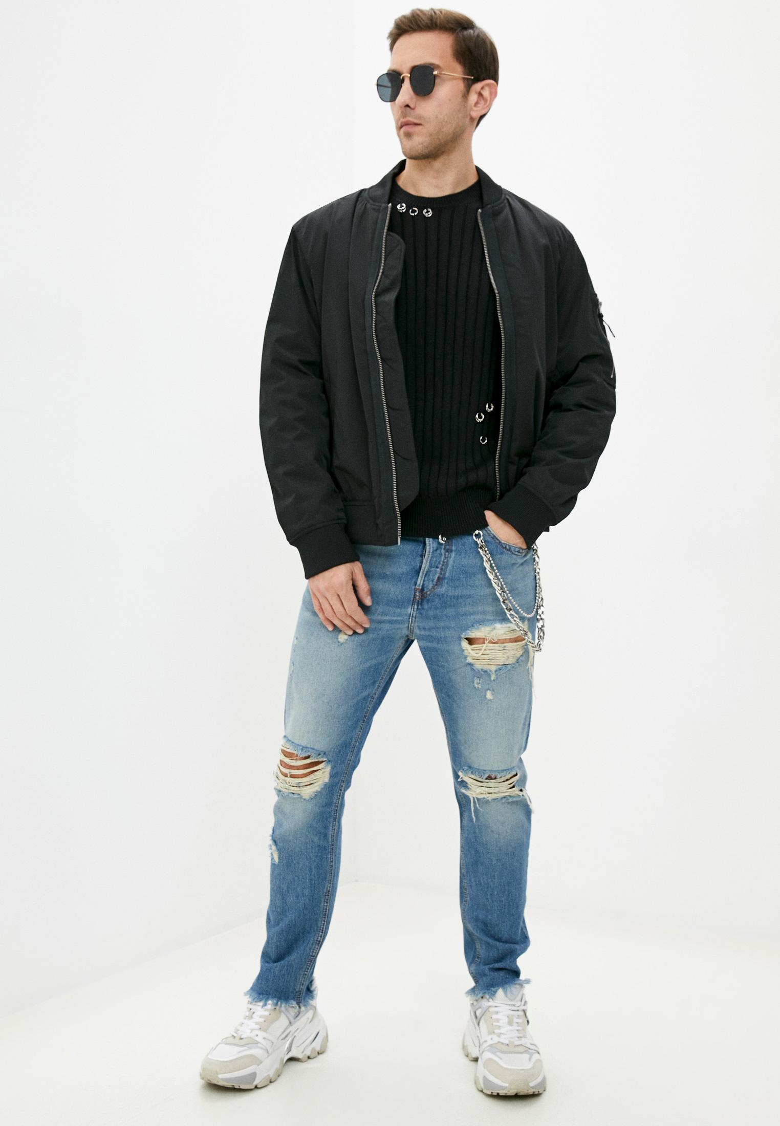 Мужские зауженные джинсы Just Cavalli (Джаст Кавалли) S01LA0090 N31651: изображение 3