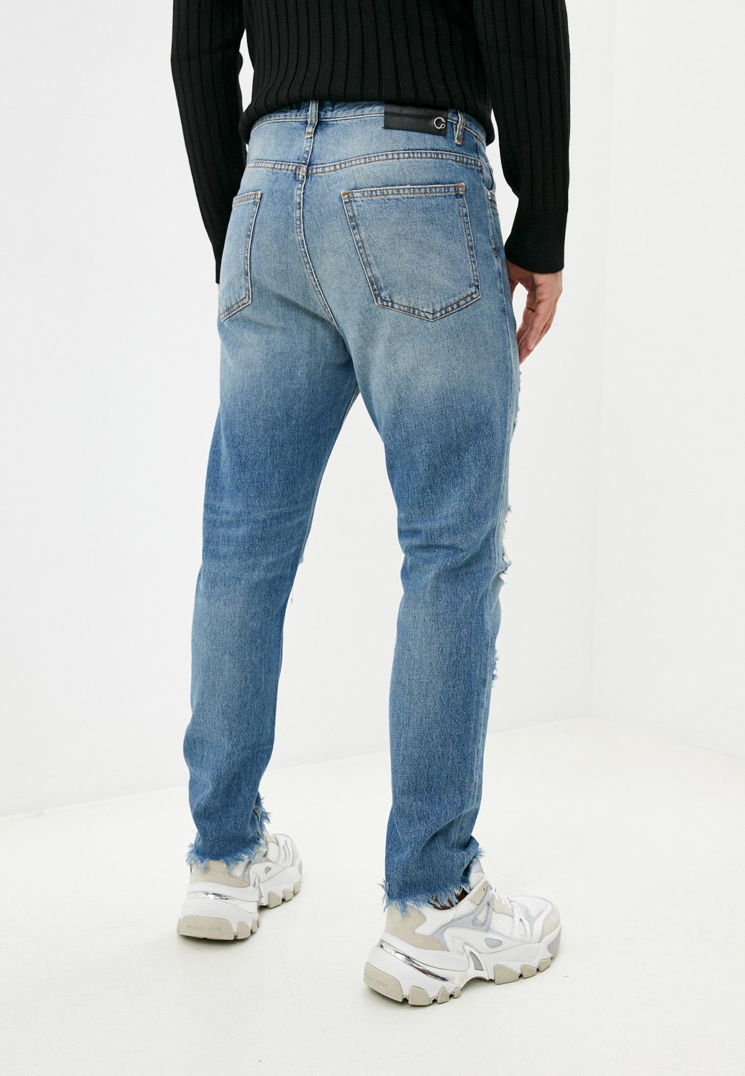 Мужские зауженные джинсы Just Cavalli (Джаст Кавалли) S01LA0090 N31651: изображение 4
