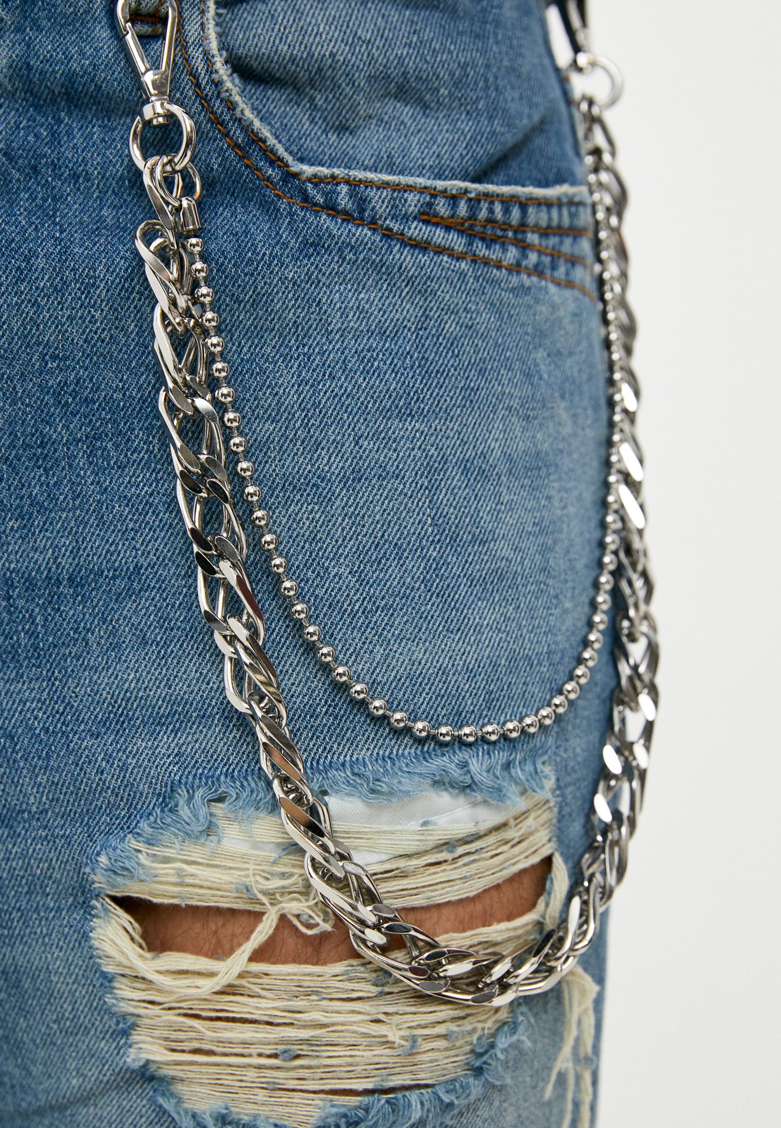 Мужские зауженные джинсы Just Cavalli (Джаст Кавалли) S01LA0090 N31651: изображение 5