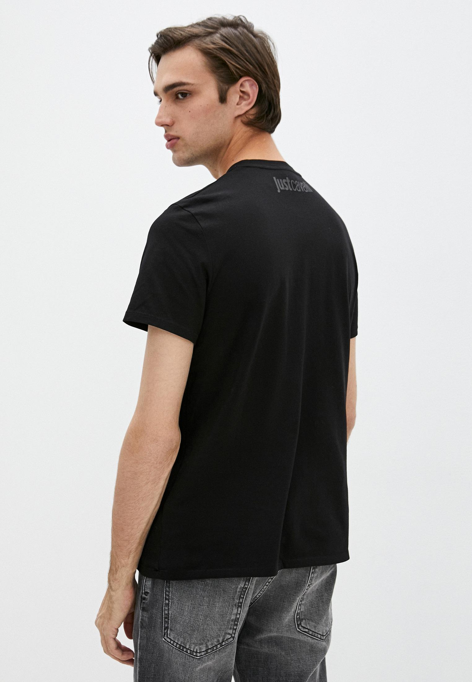 Мужская футболка Just Cavalli (Джаст Кавалли) S01GC0554 N20663: изображение 4