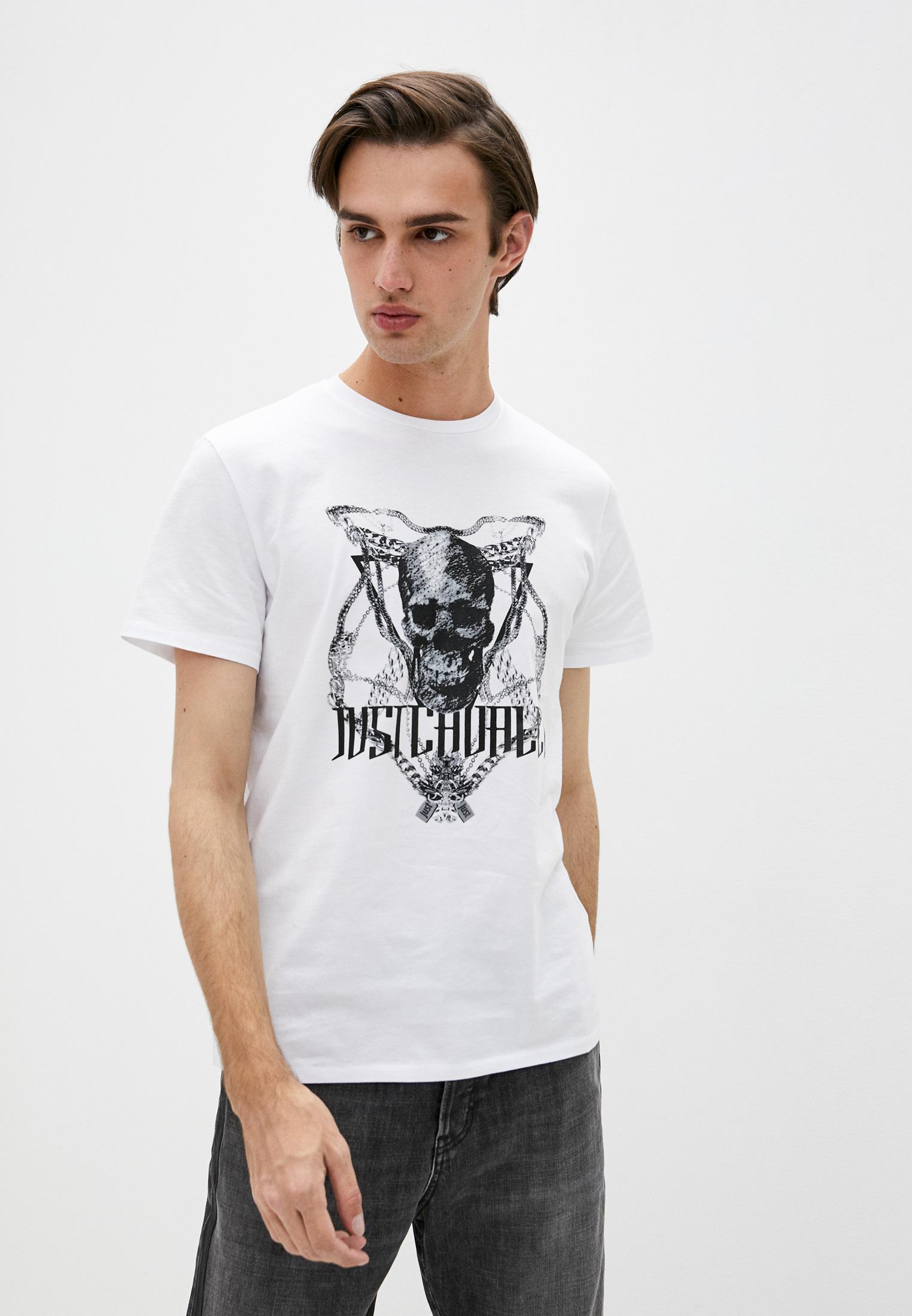 Мужская футболка Just Cavalli (Джаст Кавалли) S01GC0574 N20663