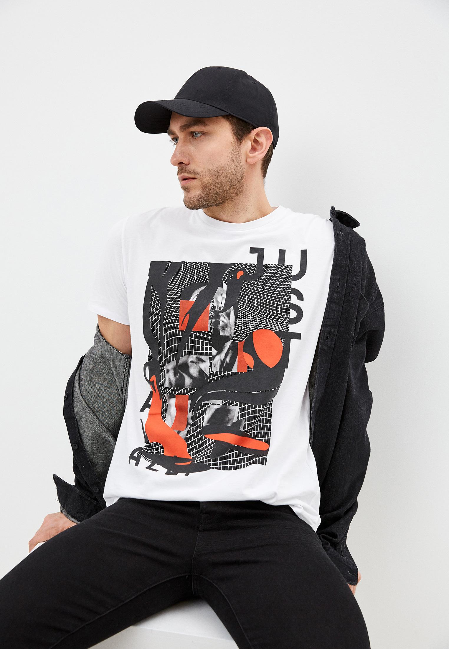 Мужская футболка Just Cavalli (Джаст Кавалли) S01GC0658N20663