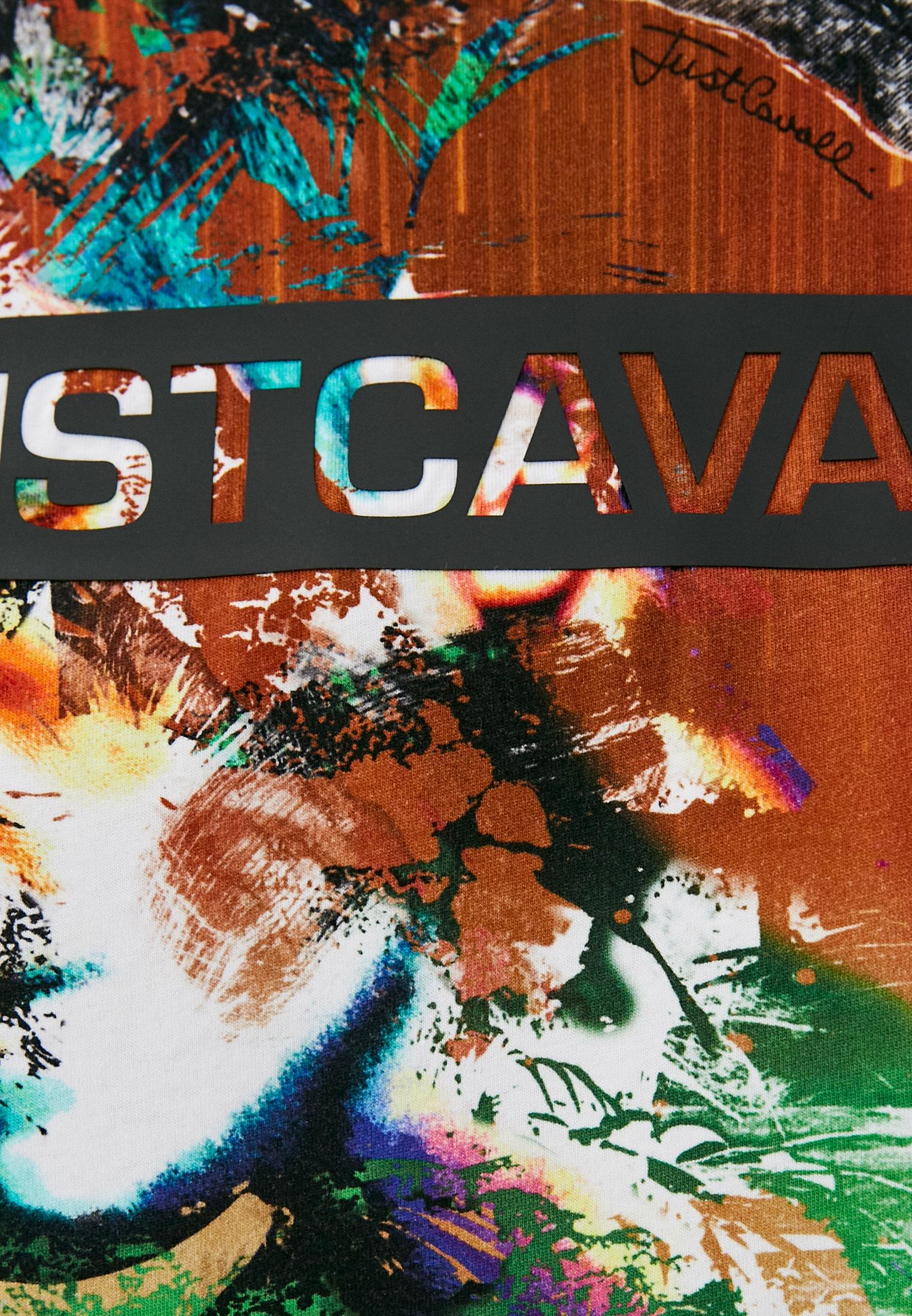 Футболка Just Cavalli (Джаст Кавалли) S01GC0670N21562: изображение 5