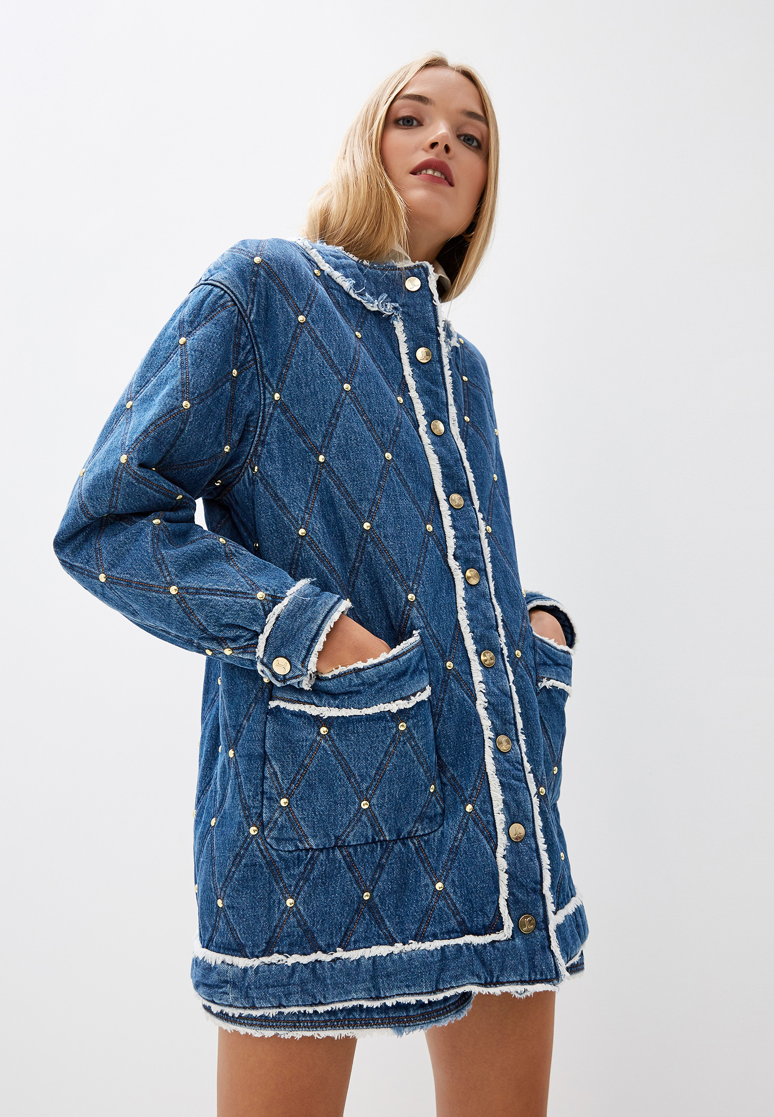 Джинсовая куртка Just Cavalli (Джаст Кавалли) S02AA0074