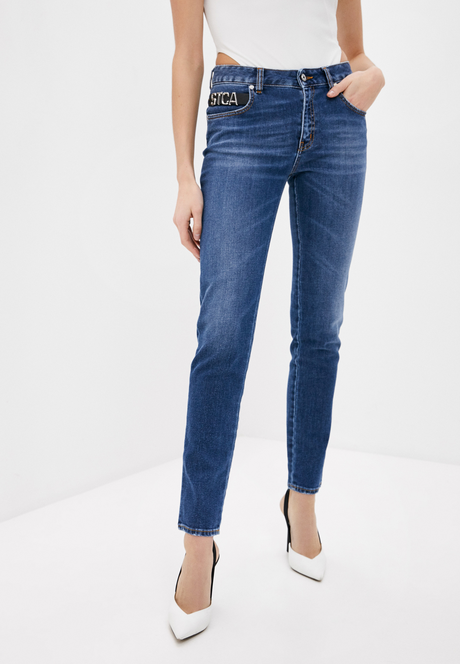 Зауженные джинсы Just Cavalli (Джаст Кавалли) Джинсы Just Cavalli
