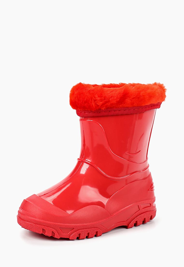 2c366f79a Сапоги для девочек Каури 702 У внешний материал резина; цвет красный ...