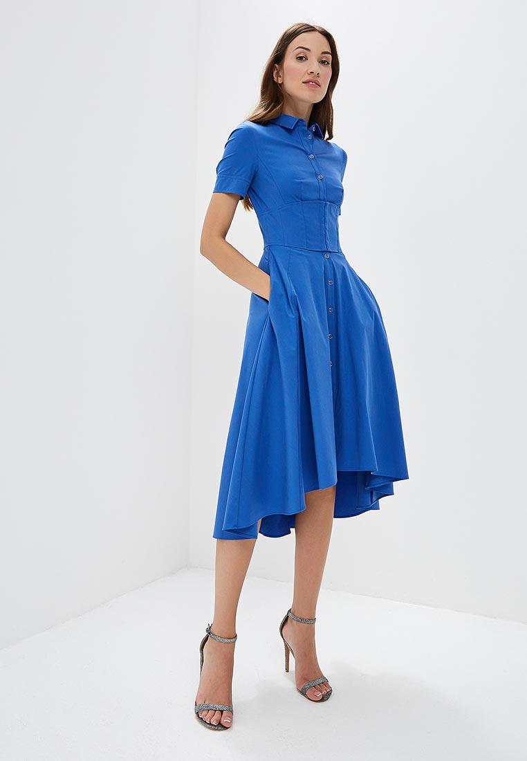 Платье Karen Millen (Карен Миллен) DC149_BLUE_SS18