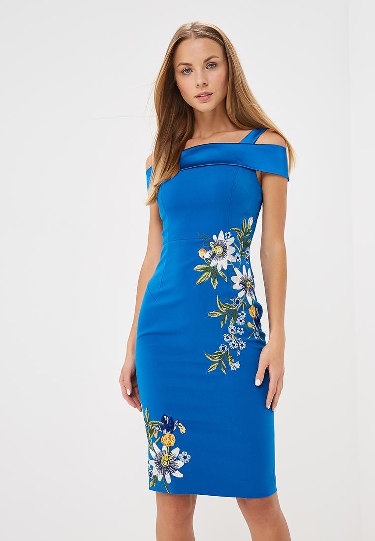 Вечернее / коктейльное платье Karen Millen (Карен Миллен) DD056_BLUMUL_AW18