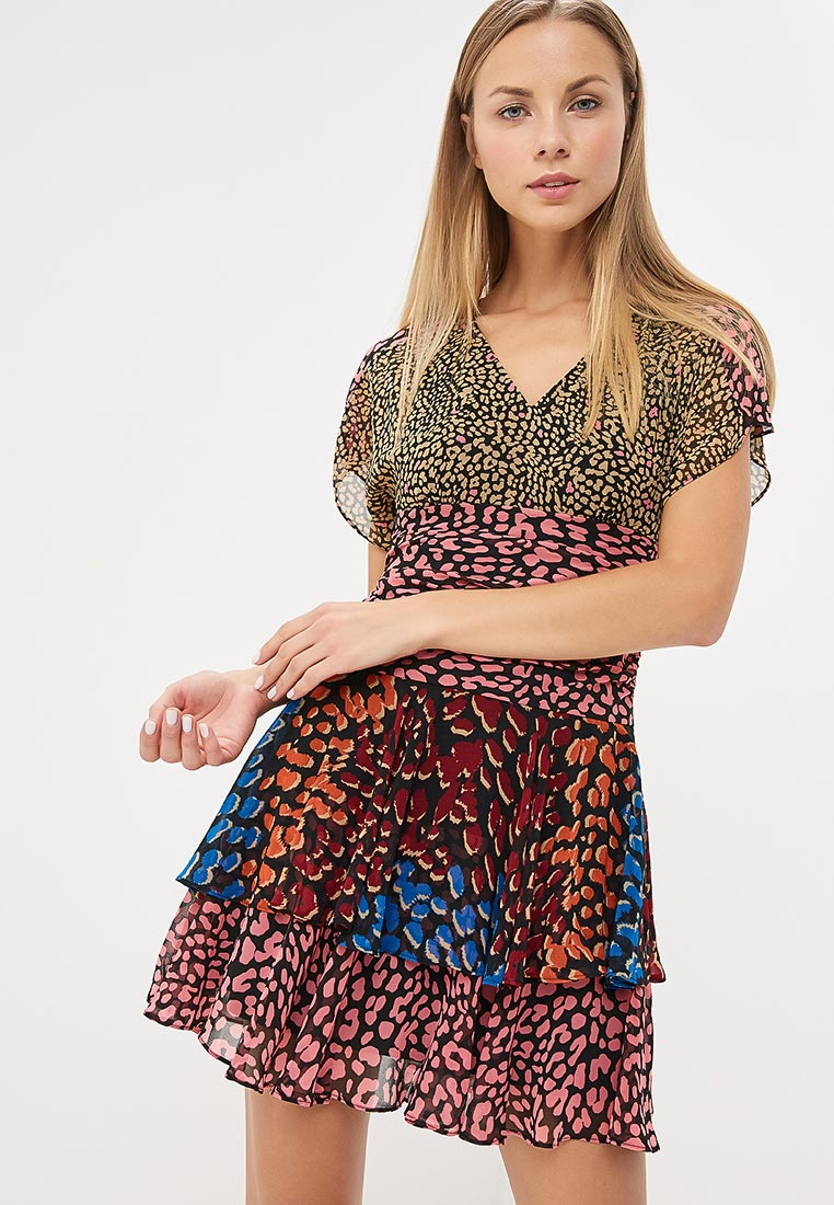 Платье Karen Millen (Карен Миллен) DD060_MULCOL_AW18