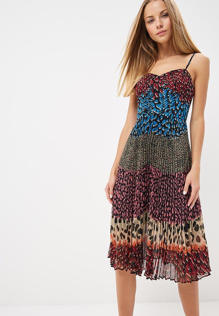 Вечернее / коктейльное платье Karen Millen (Карен Миллен) DD062_MULCOL_AW18