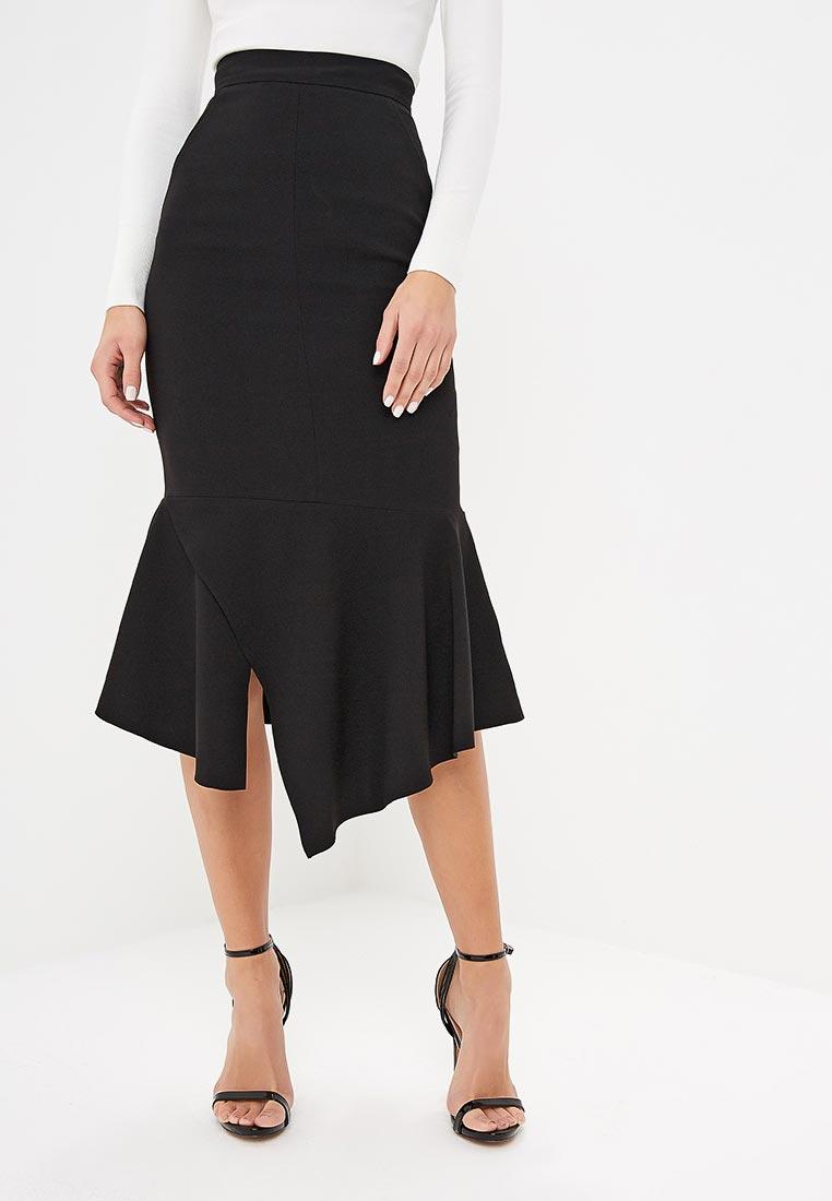 Узкая юбка Karen Millen (Карен Миллен) SD001_BLACK_AW18