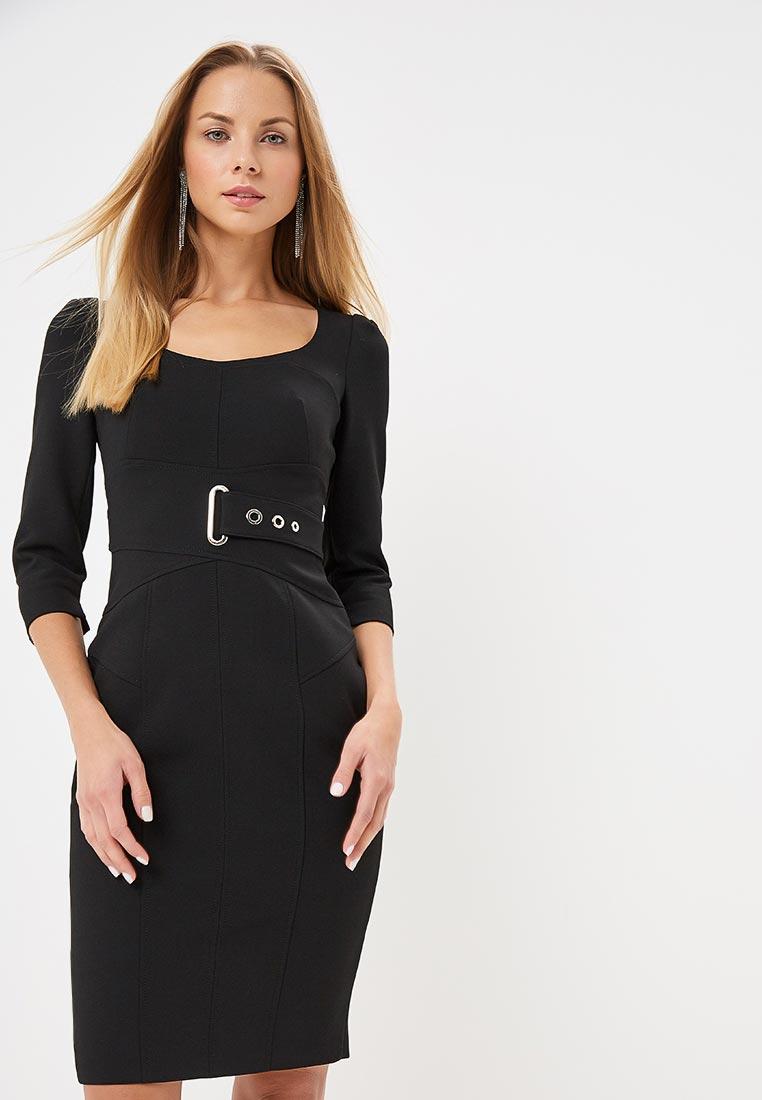 Платье Karen Millen (Карен Миллен) DD036_BLACK_AW18