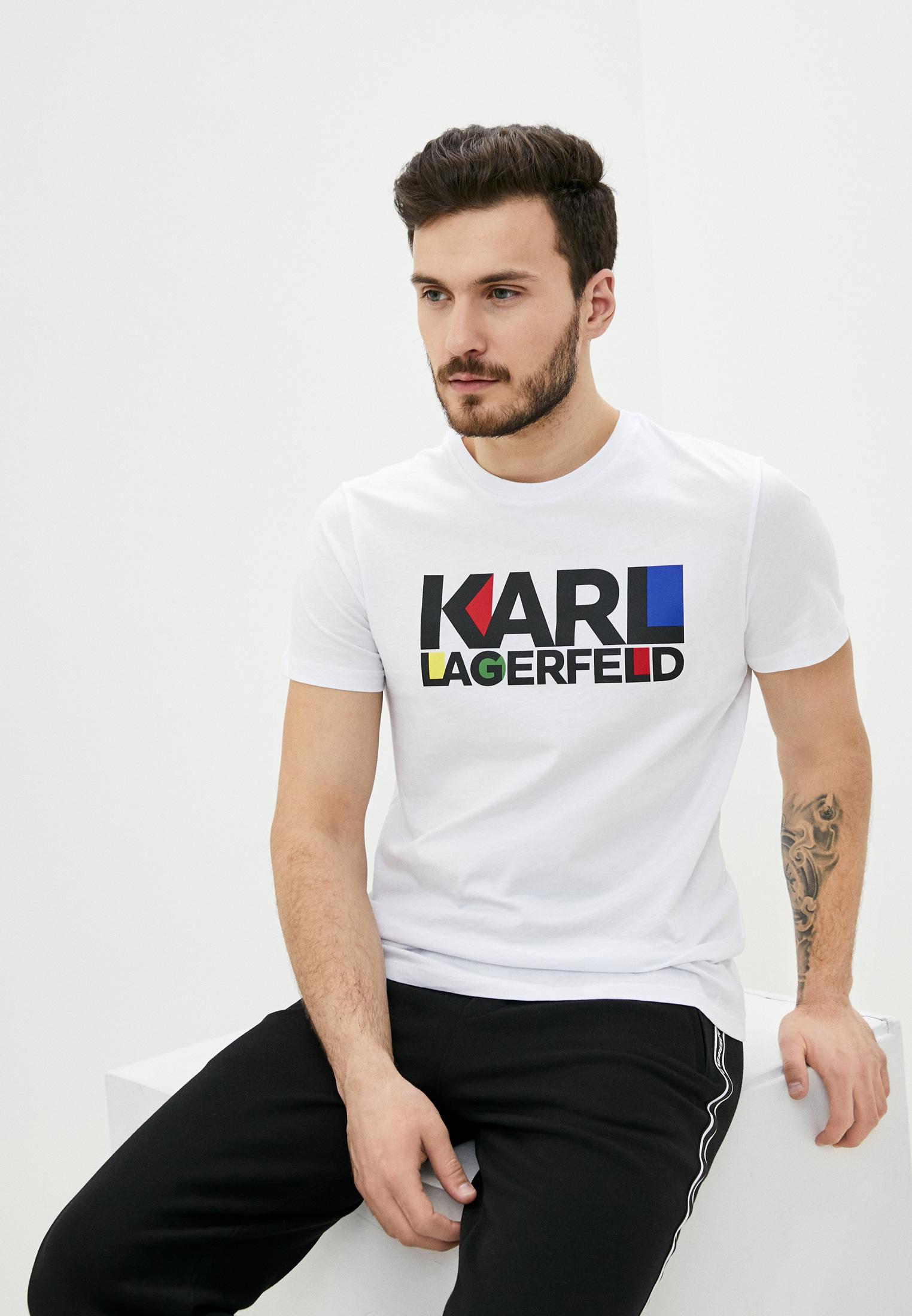 Мужская футболка Karl Lagerfeld (Карл Лагерфельд) 755042