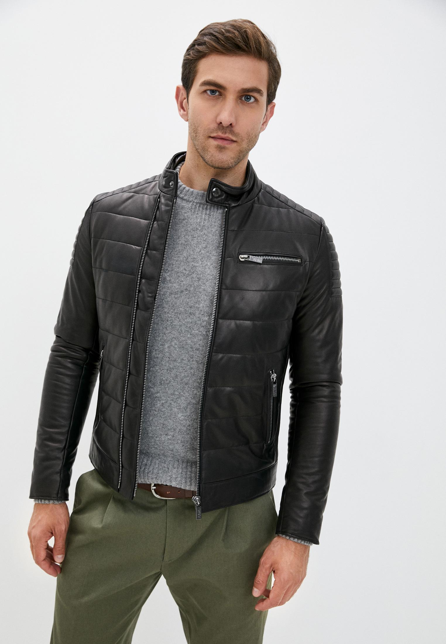 Кожаная куртка Karl Lagerfeld 555001-502401